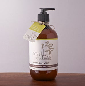 Image of Hand & Body Wash - Mandarin, Lemon Myrtle & Orange Peel - 500ml