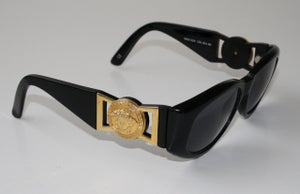 Image of Vintage Gianni Versace Sunglasses mod. 424 col. 852 BK *RARE*