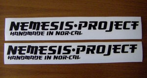 Image of Nemesis Project frame sticker kit - die cut