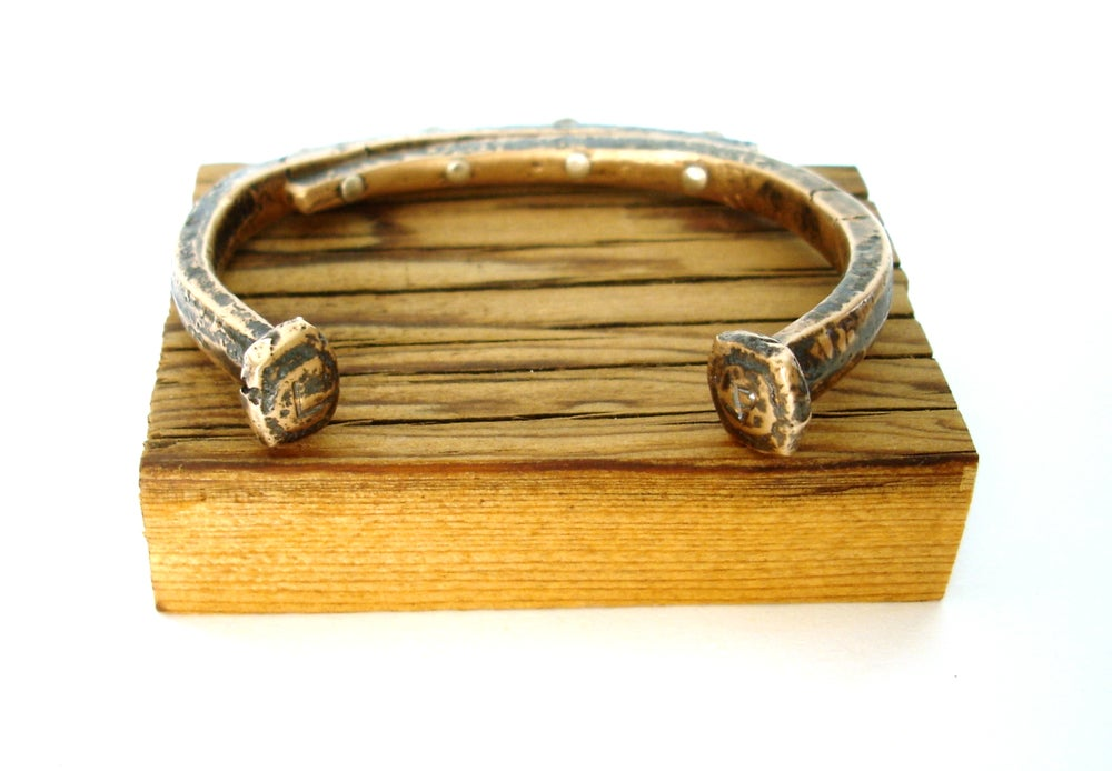 Image of Bronze Nail Cuff