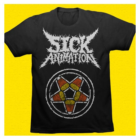 Candy Corn Pentagram Shirt - Sick Animation Shop