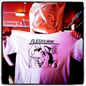 Image of Flesh & Bone t-shirt