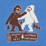 Image of Bigfoot vs Yeti T-shirt
