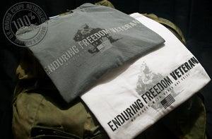 Image of ENDURING FREEDOM VETERAN T-Shirt