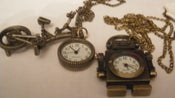 Image of Bike Pendant & Robot Pendant.