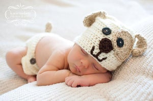 Image of Puppy Beanie