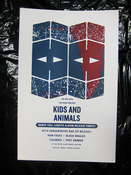 Image of Limited Edition Screen-printed CD Release Show Poster