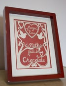 Image of Forget love - I'd rather fall in chocolate.