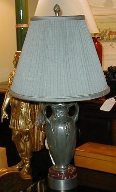 Image of Antique French Bronze Urn - Susse Fres - Designer Lamp
