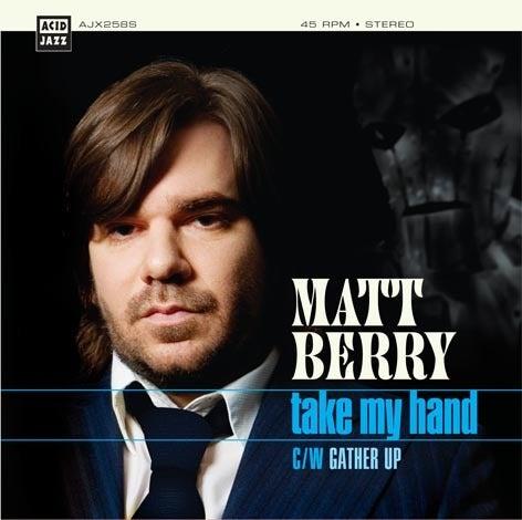 "Image of Matt Berry - Take My Hand 7"" (Theme from Toast Of London)"