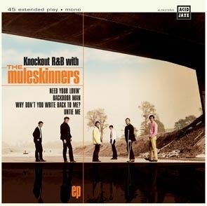 Image of The Muleskinners - Knockout R&B With... 7""
