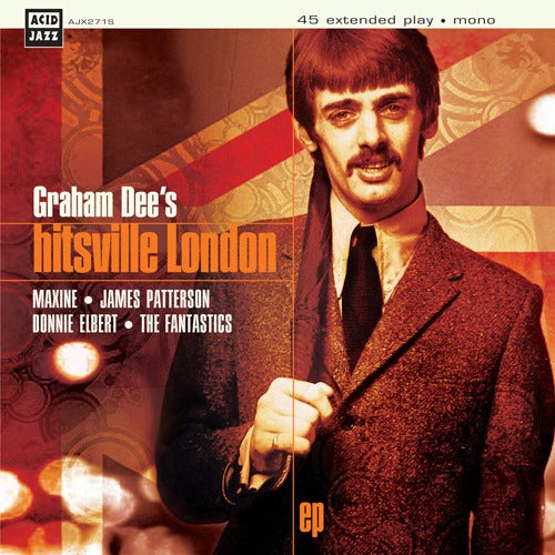 "Image of Graham Dee - Hitsville EP - 7"" Vinyl - Rare Mod Collection"