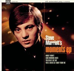 "Image of Steve Marriott - Moments EP 7"""