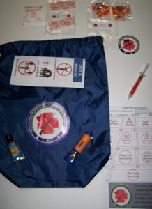 Image of Dept. of Zombie Control and Elimination Introductory Nylon Bag