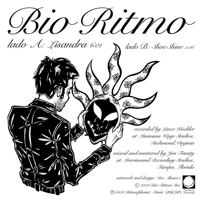 "Image of Bio Ritmo ""Lisandra"" Colored Vinyl 7"" 33rpm"