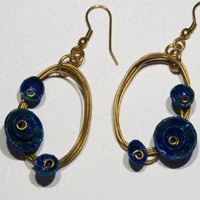 Image of Oval Earrings