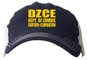 Image of Dept. of Zombie Control and Elimination Trucker Hat