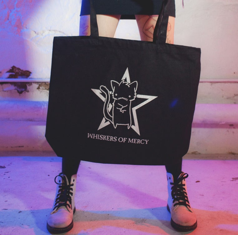Image of WHISKERS OF MERCY TOTE