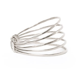 Image of LOTUS RING SILVER