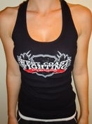 Image of West Coast Fighting Championship Womens Fitted Racerback Tank