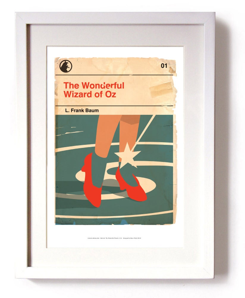 Image of The Wonderful Wizard of Oz - Limited Edition Signed Print (unframed)