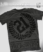 Image of The Howling shirt - dark heather/black