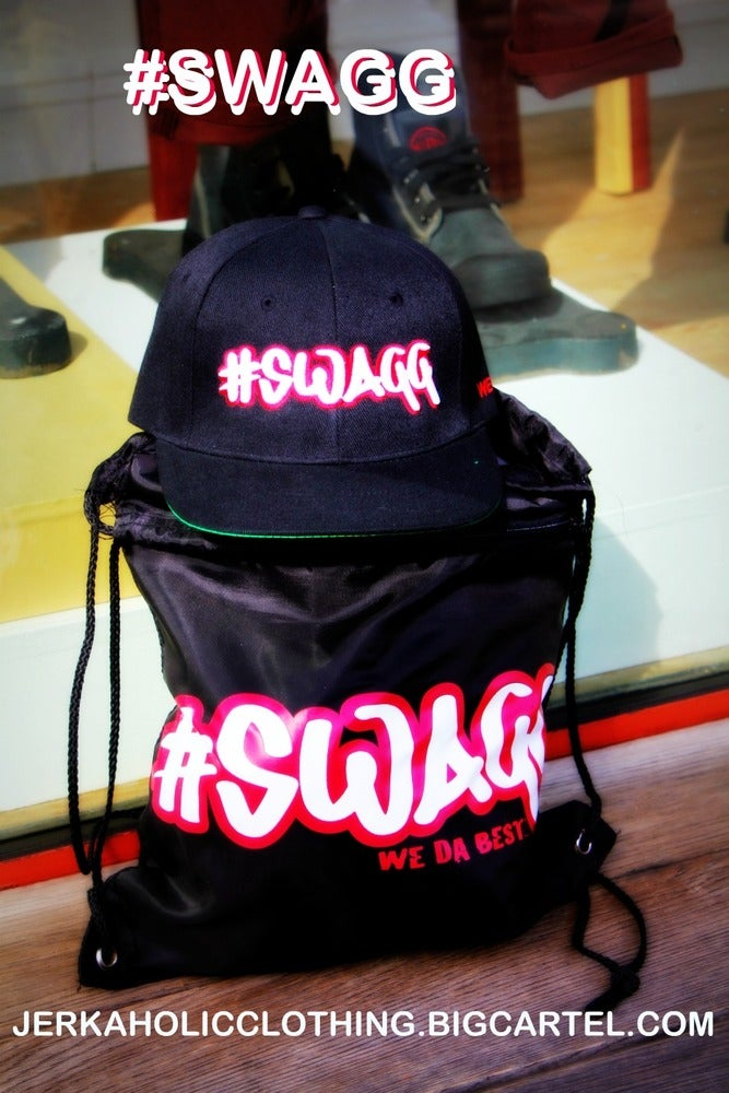 Image of #SWAGG SNAPBACK AND #SWAGG bag COMBO