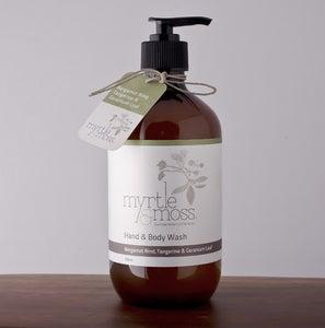 Image of Hand & Body Wash - Bergamot Rind, Tangerine & Geranium Leaf - 500ml