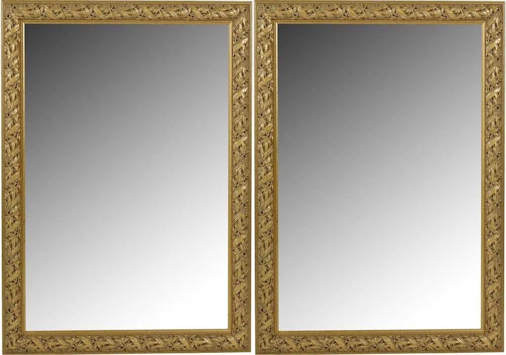 Image of 20th-C. Gilded Mirrors, Pair