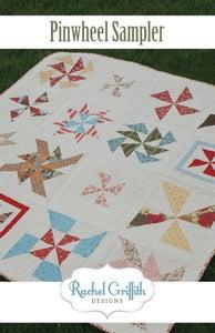 Image of pinwheel sampler quilt pattern #105 (PDF VERSION)