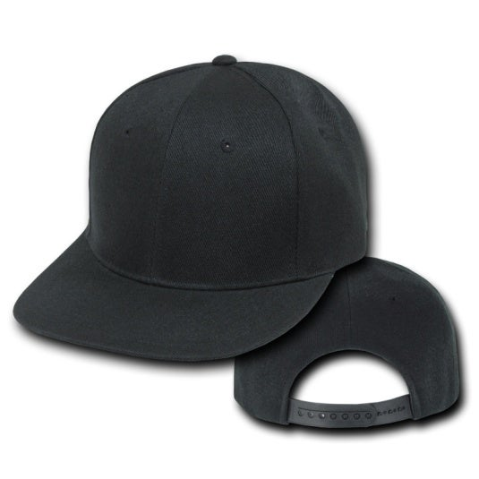 Image of Plain Snap Back Hats