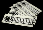 Image of Mayday Garage Daily Sticker.