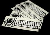 Image of Mayday Garage Daily Sticker.