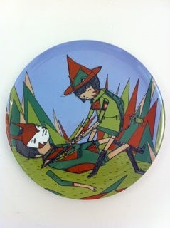 Image of ghostpatrol artist plate