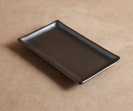 Image of Black Oxidized Ceramic Tray BC-020