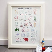 Image of 'Animal Alphabet' Print