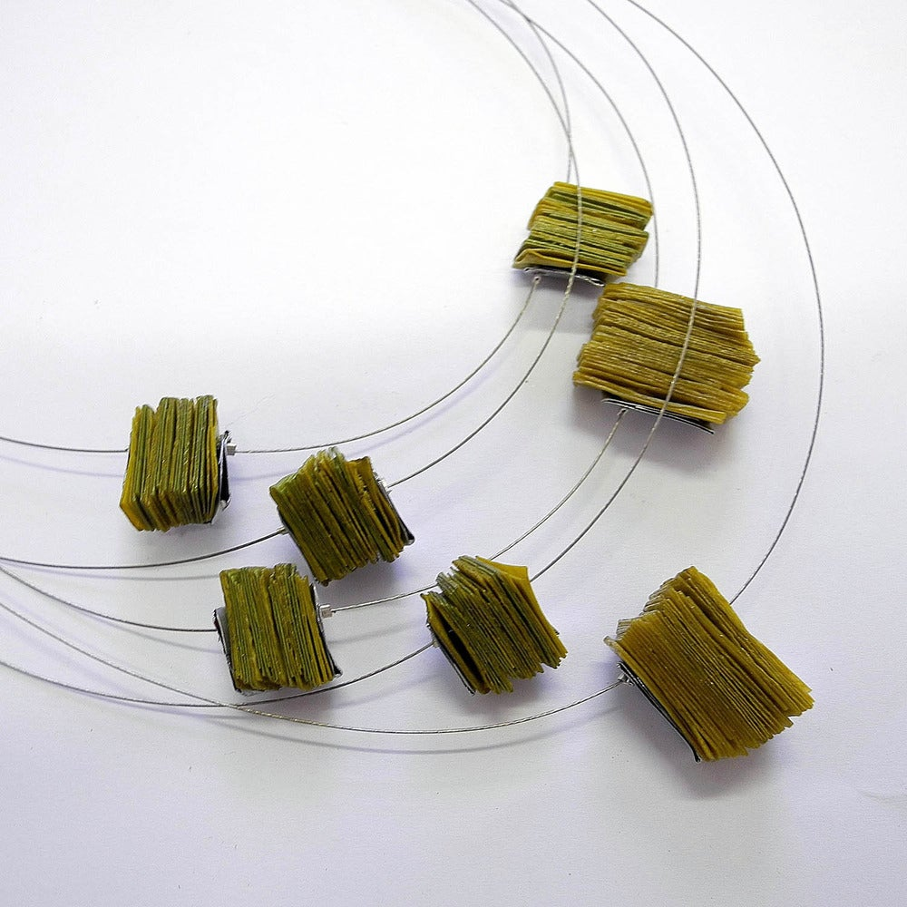 Image of Canny Books Wire Necklace