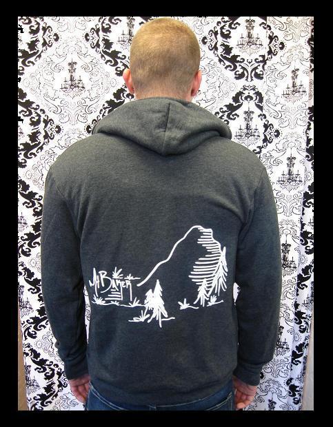 Image of Mt Baker Full Zip Hoodie (Unisex)