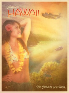 Image of The Islands of Aloha | Travel Posters