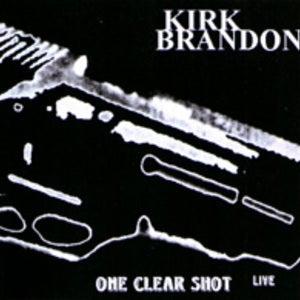"Image of KIRK BRANDON ""One Clear Shot Live"" CD"
