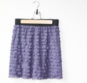 Image of Purple Ruffle Skirt
