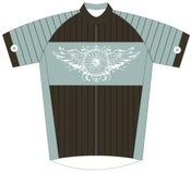 Image of ARTIST DESIGNED CYCLING JERSEY BY METTLE VELO