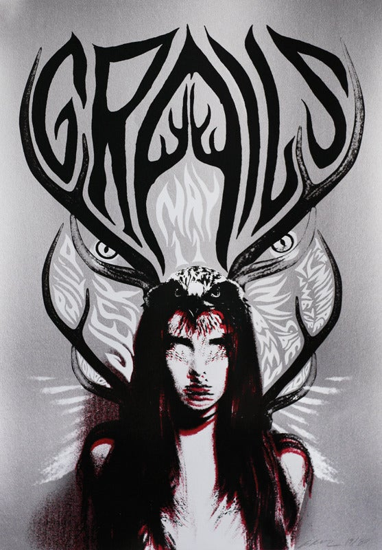 Image of  Grails - London 2010 - Silkscreen Poster