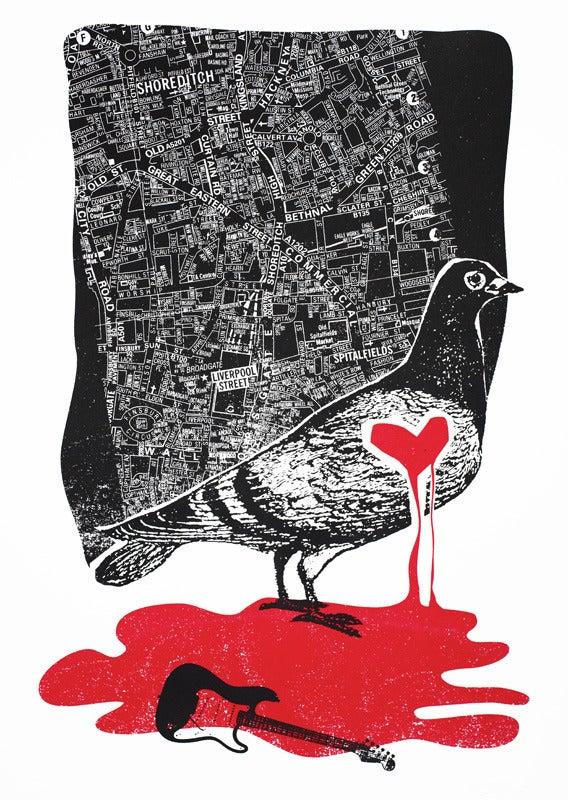 Image of Pigeon (East London) - 2009 - Art Print