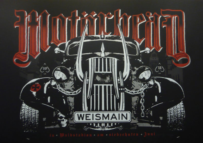 Image of Motorhead - Germany 2011 - Silkscreen Poster