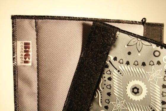 Image of Bici: Frame pad - Gray/Gray Bandana