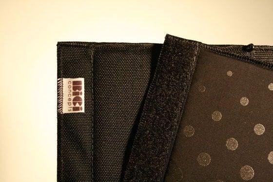 Image of Bici: Frame pad - Black/Black Check-a-dots©