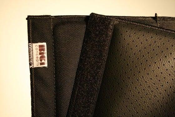 Image of Bici: Frame pad - Black/Black Perforated Vinyl