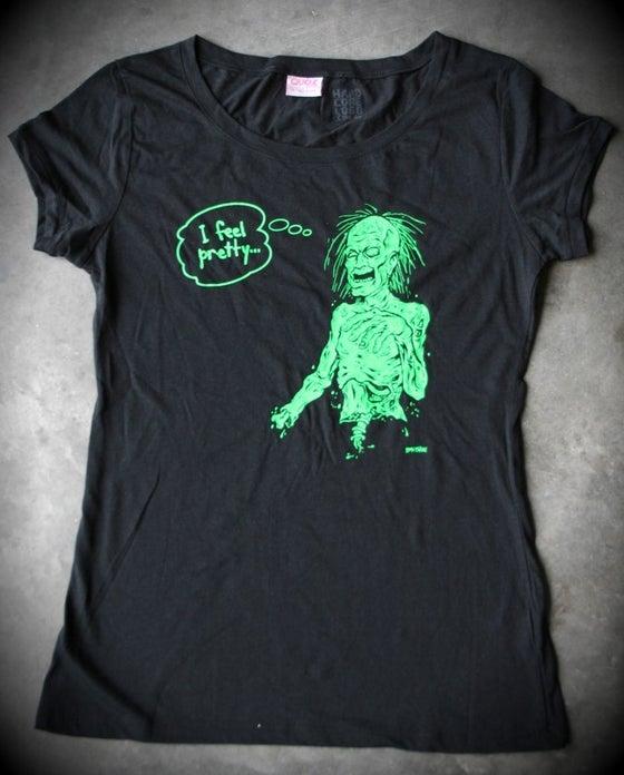 Image of I Feel Pretty Ladies T-Shirt.
