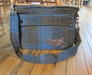 """Image of Second Cup of Cocoa- Men's Coat Computer bag  (15"""" Laptop Case)"""